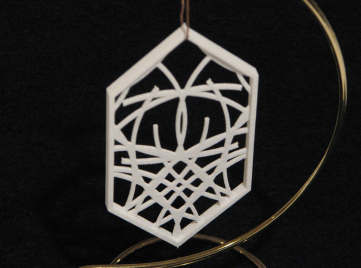 Ornament 04d 3d printed