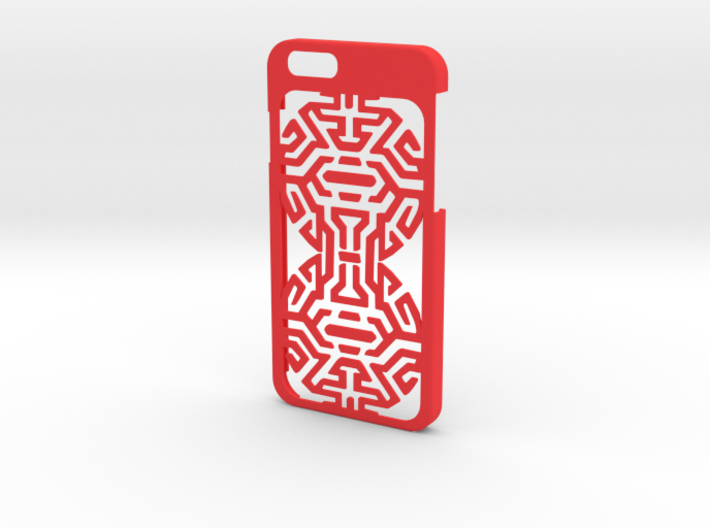 iPhone 6 case with goth Tribal 3d printed