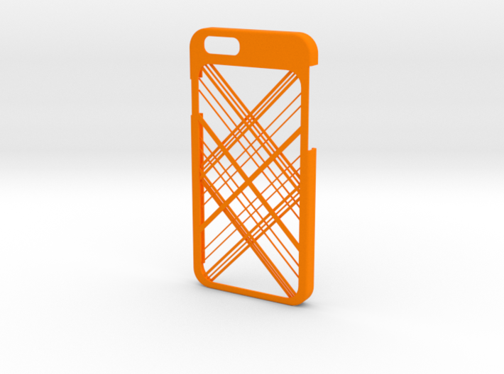 iPhone 6 case - Abstarct Lines 3d printed