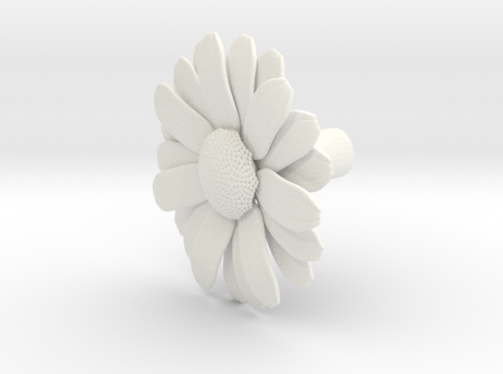 Daisy (Pen Cap) 3d printed