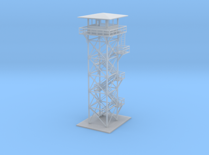 Forestry Tower Z Scale 3d printed Forestry Tower Z scale