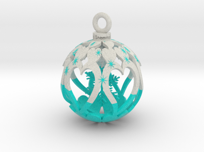 Yourinmyhart Snowflake 6cm 3d printed