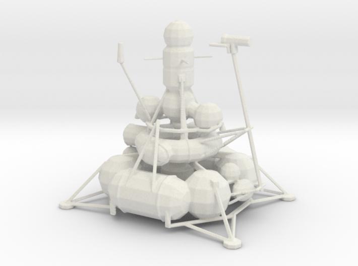Luna - Moon Mission 3d printed