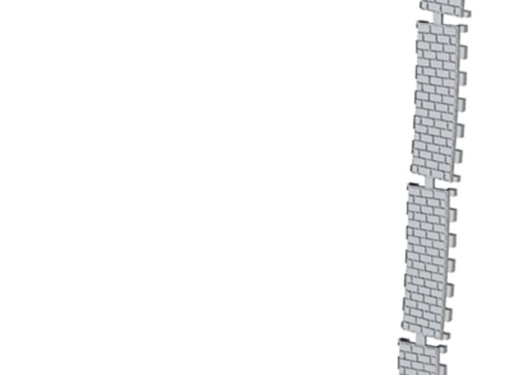P-165stw-curved-2r-track-insert-w-x4-1a 3d printed