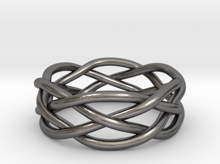 Dreamweaver Ring (Size 8) 3d printed