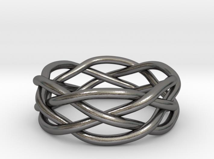 Dreamweaver Ring (Size 12) 3d printed
