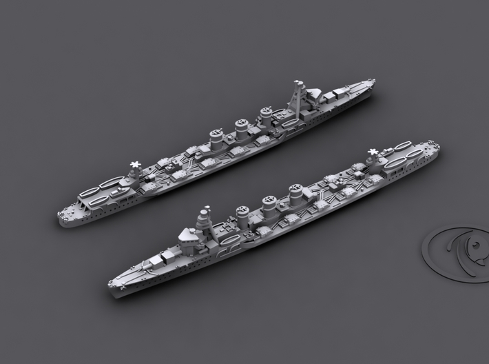 1/1800 IJN CL Kitakami[1941] 3d printed Computer software render