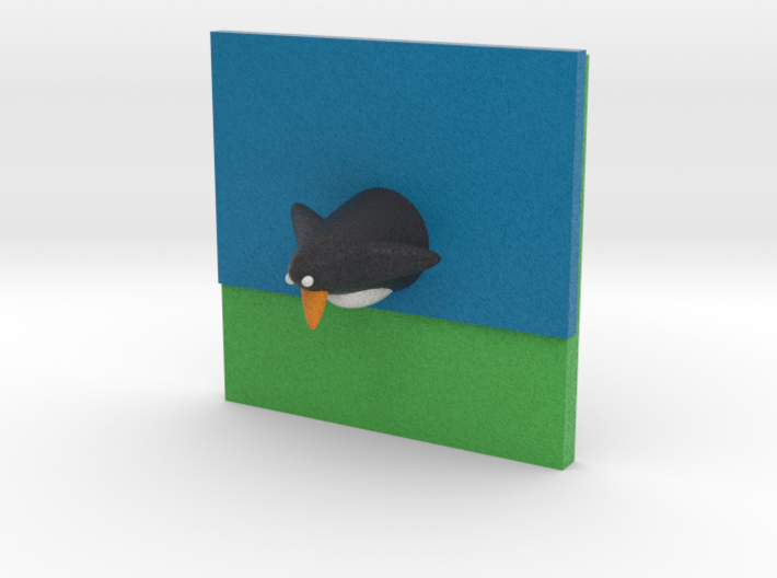Mr Darcy From Pride And Prejudice Penguin In Lake 3d printed