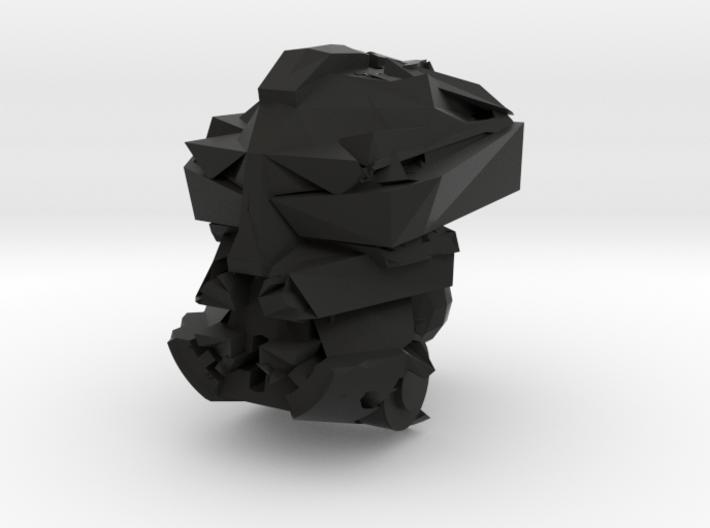 Makuta Head 3d printed