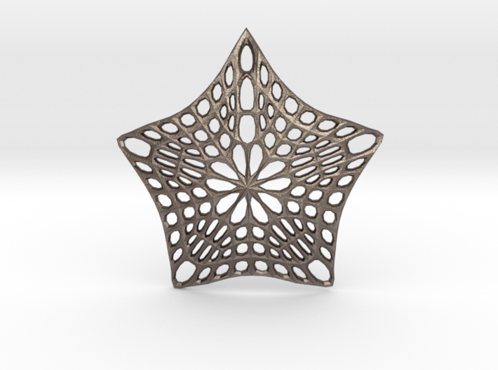 Decorative Ornament 'Star' 3d printed