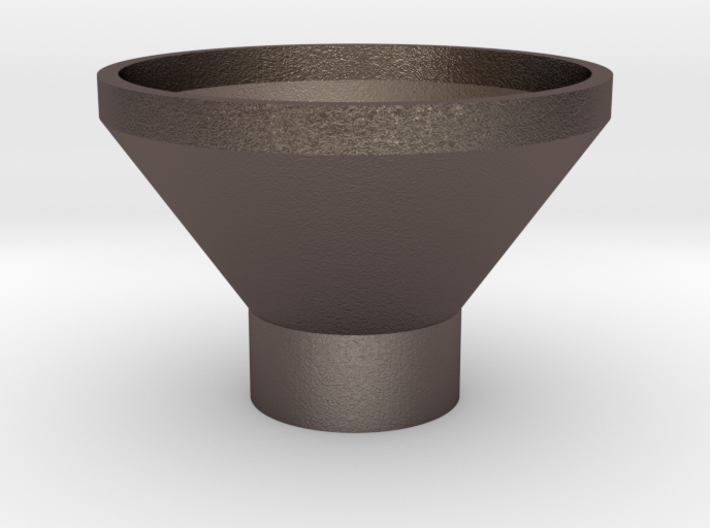 Flask Funnel 3d printed