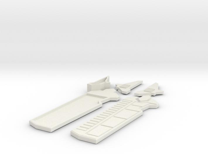 Mando Prop Hilt/Mechanism Only 3d printed