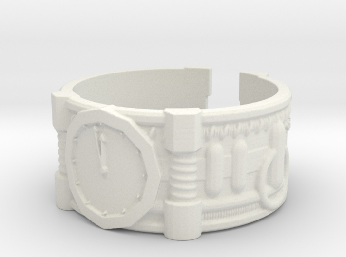 2 Minutes To Midnight #1, Ring Size 11 3d printed