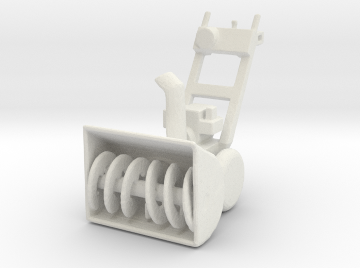 "1:43 28"" 2-Stage Personal Snow Blower 3d printed"