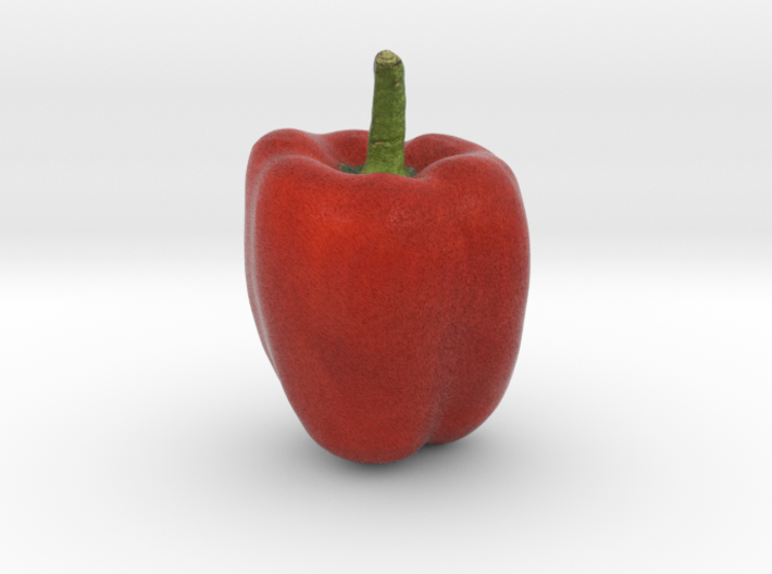 The Red Pepper-2 3d printed
