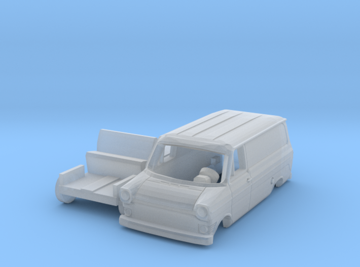 Ford Transit Mk1 Lieferwagen (N 1:160) 3d printed