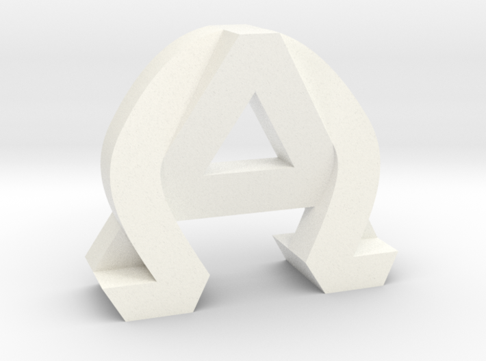 AlphaOmega (Large) 3d printed
