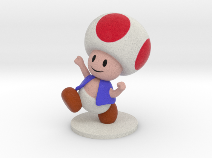 Toad - 51mm 3d printed
