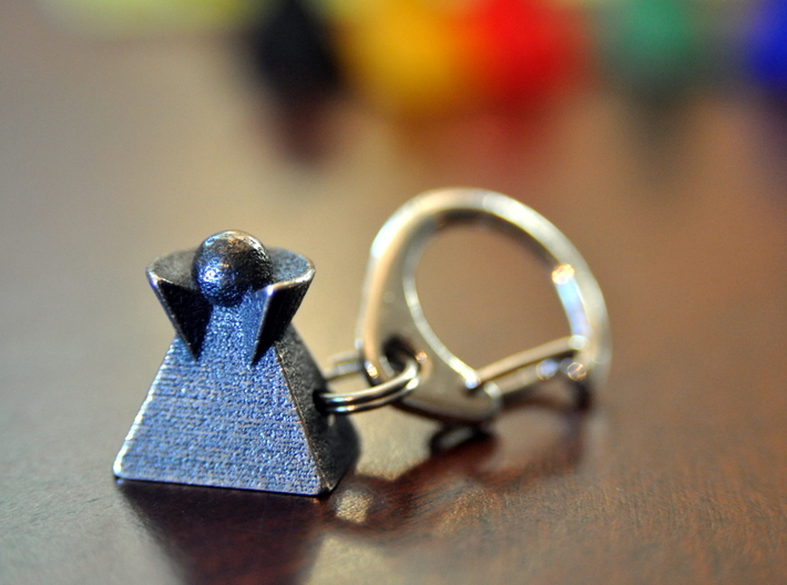 """Veeple Fob 3d printed With 8mm split ring and 1/2"""" snap ring, not included"""