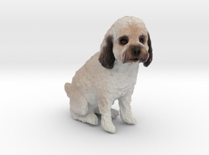 Custom Dog Figurine - Leo 3d printed
