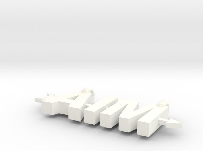Aim Pendant 3d printed