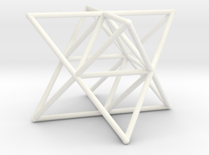 Rod Merkaba Supports 6cm 3d printed