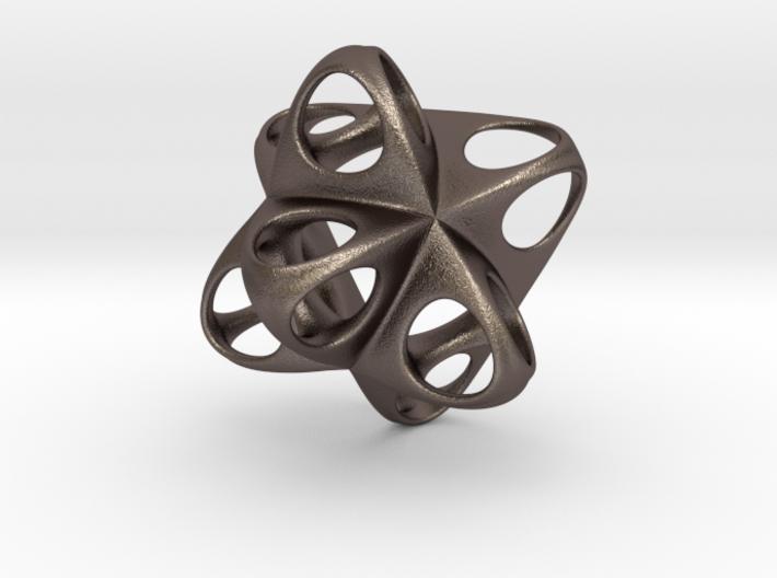 Merkaba Flatbase Round - 3.5cm 3d printed