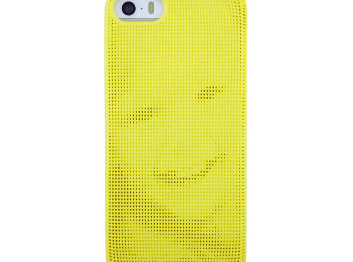 Iphone 5/5S 3D Printed case - Portrait collection 3d printed photo including phone to show the effect.