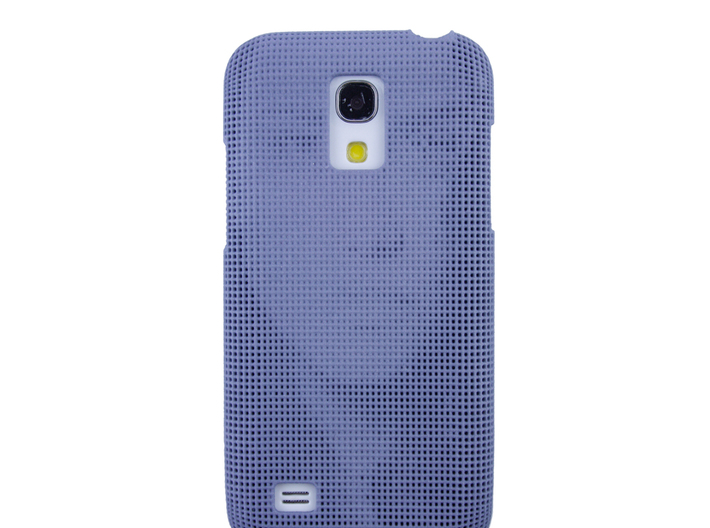 Samsung S4 Mini 3D Printed case - Portrait collect 3d printed Real photo to show the effect on an actual phone
