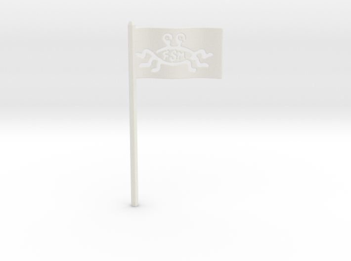FSM Flag for Starch-Bishop's Palace 3d printed