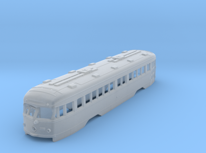 N Scale Double-End PCC Illinois Terminal Trolley B 3d printed