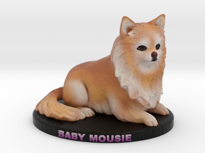 Custom Dog Figurine - Mousie 3d printed