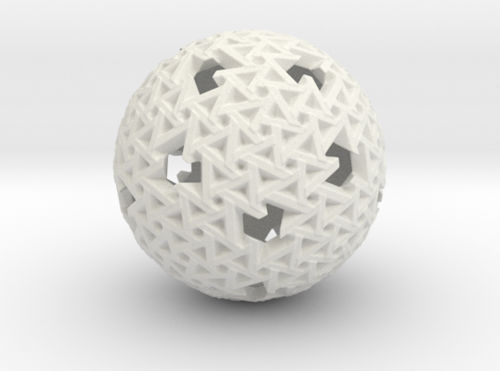 Trapezoidal Sphere 3d printed