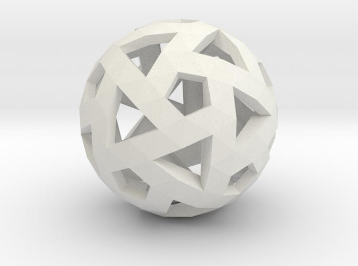 Triango Mesh Sphere 3d printed