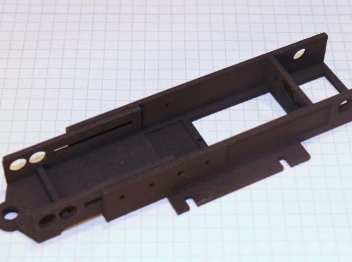 NWP2 Vario Chassis 3d printed vario chassis and front end (available seperately)