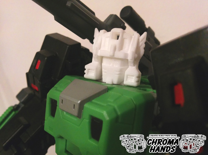 Toyworld Hardbone G1 Style Head Replacement 3d printed