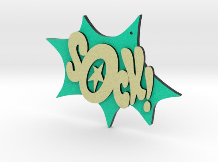 Sock Ornament 3d printed