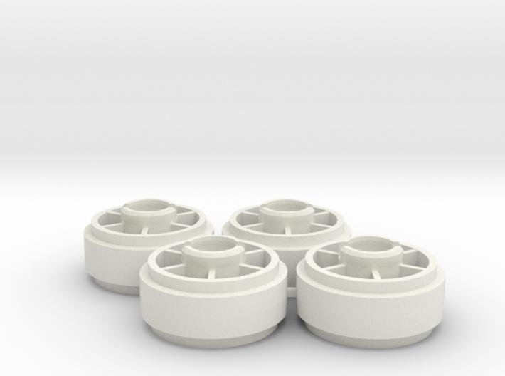 Mini-z NSR5229 19mm +2 Wheelset 3d printed
