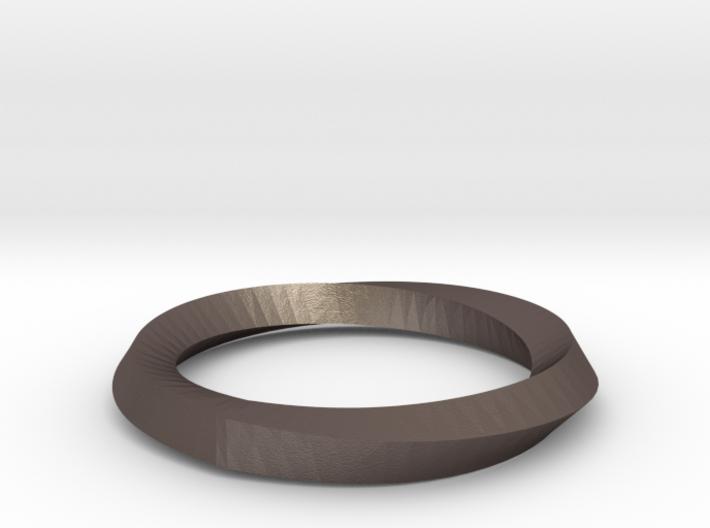 Mobius Wedding Ring-Size 5- 3d printed