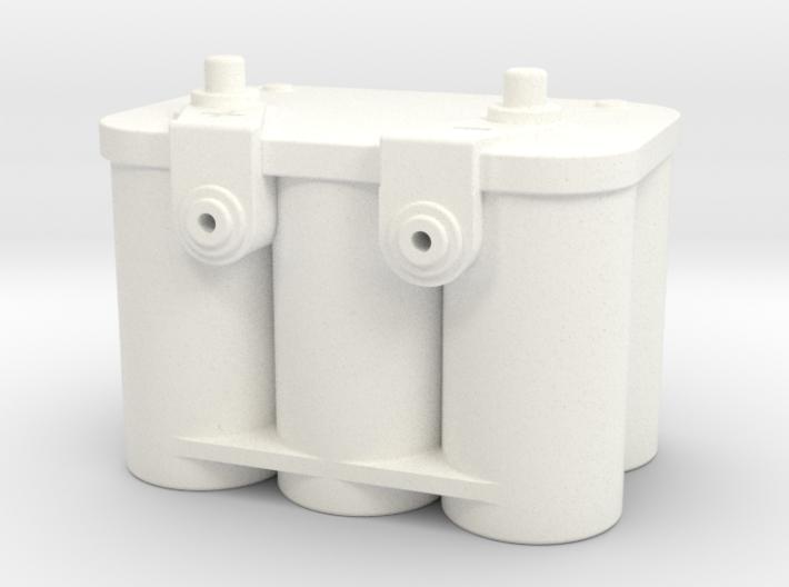 1/6 Scale 12v Gel Battery 3d printed