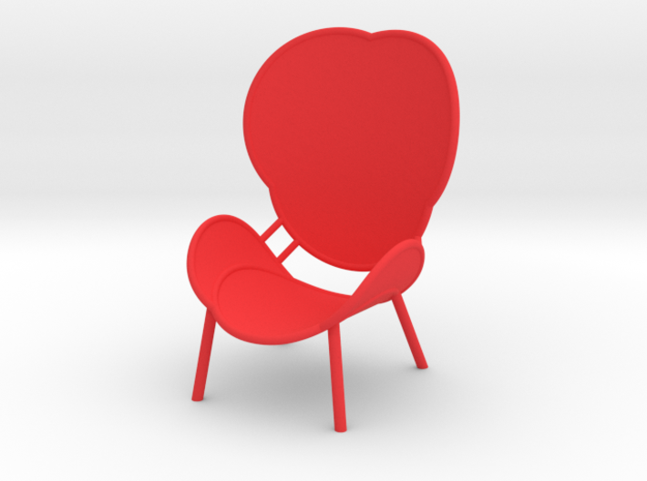 MAJESTIC LOUNGE CHAIR by RJW Elsinga 1:10 3d printed MAJESTIC LOUNGE CHAIR design RJW Elsinga 1:10