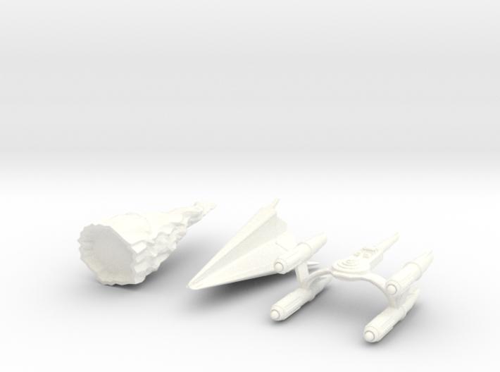 "Star Trek Micro Machines ""LOST SET"" from The Origi 3d printed"