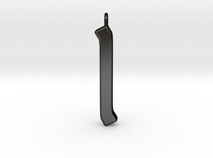 Rune Pendant - Īs 3d printed