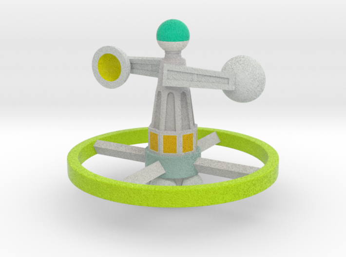 Green Hornet Scanner 3d printed