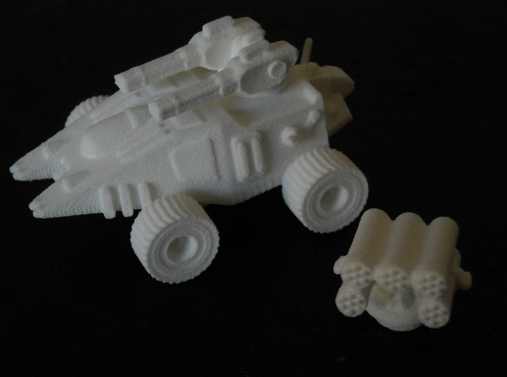 MG144-JAL07 Appila Attack Rover 3d printed