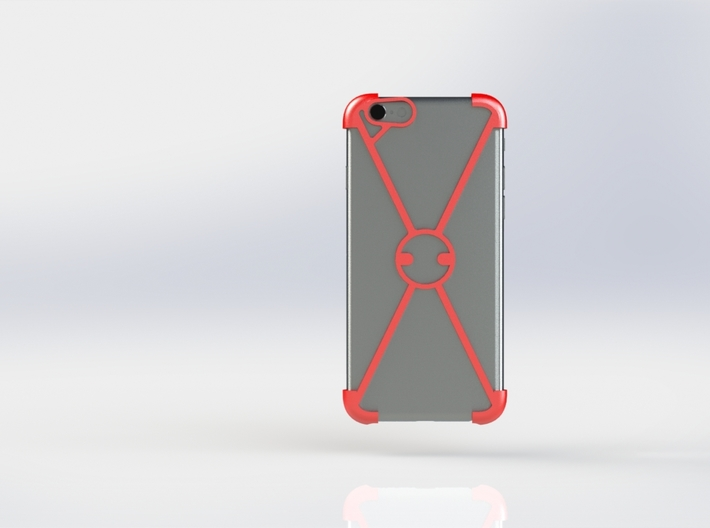 """X"" For iPhone 6 3d printed"
