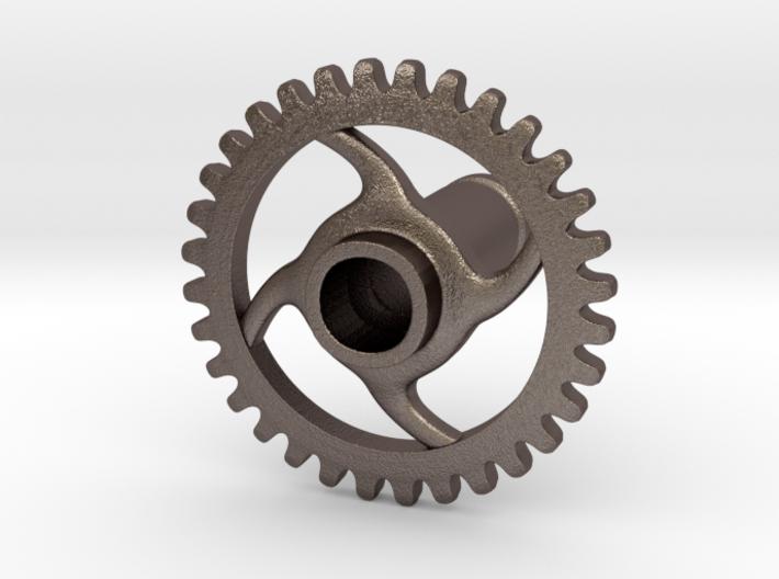 2 Gauge Gear 3d printed