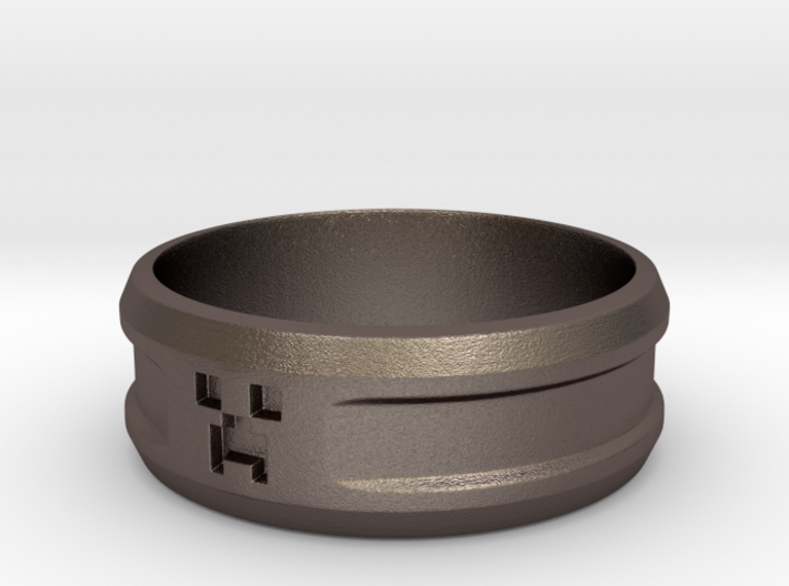 Creeper Band (Size 7 1/2 | 17.7 mm) 3d printed