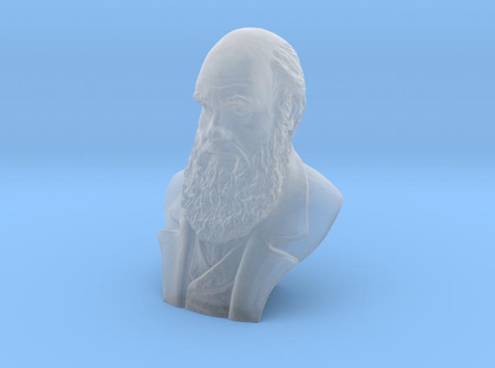 "Charles Darwin 2"" Bust 3d printed"