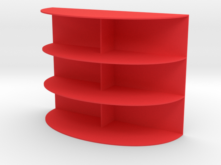 Shelving for dolls house (1:12) 3d printed